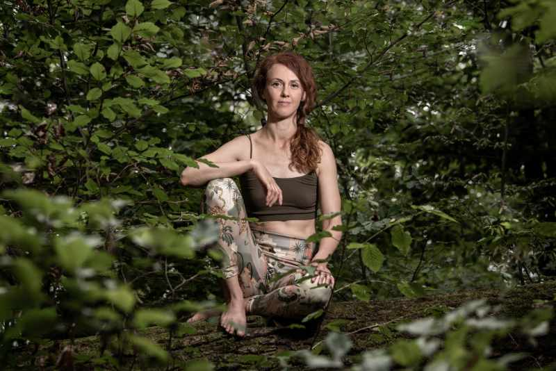 Anika Gehlert, Iyengar-Yogalehrerin Stuttgart